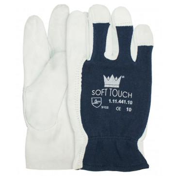 Nappalederen handschoen zonder kap