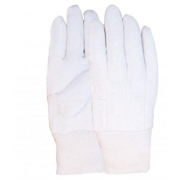 Jersey katoen 9 OZ werkhandschoenen met Ecru