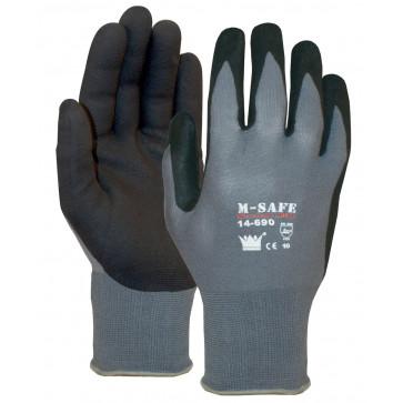 M-Safe Nitrile Foam 14-690 werkhandschoen