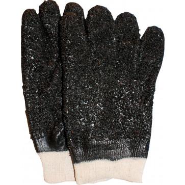 PVC werkhandschoen met tricot manchet