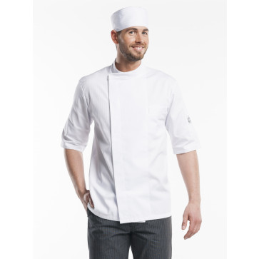 Chaud Devant Nova Short Sleeve Koksbuis Wit