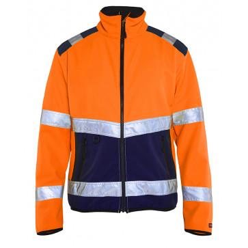 Oranje/Marineblauw