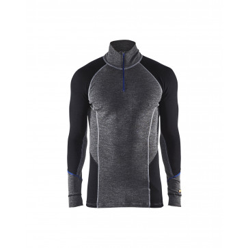 Blåkläder 4899 Onderhemd Merino met rits WARM