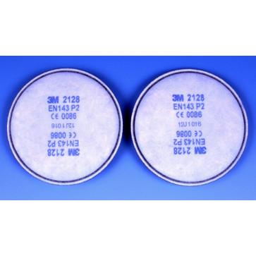 3M stofdeeltjesfilter beschermt tegen vaste en vloeibare deeltjes, actieve koolstof, zure gassen en ozon (middelmatige bescherming)
