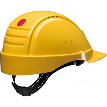 3M Peltor G2000D: ventilerende veiligheidshelm met uitstekend draagcomfort (geel)