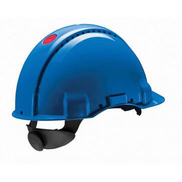 3M Peltor G3000N: extra ventilerende veiligheidshelm met 180° omkeerbaar binnenwerk (blauw)