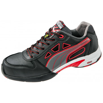 Puma Stream Red S1 ESD Werkschoen Dames