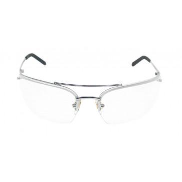 3M Metaliks veiligheidsbril met dun montuur en goede pasvorm (heldere lens)