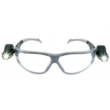 3M Led Light Vision veiligheidsbril met LED verlichting (bescherming tegen UV-licht en extreme temperaturen)