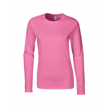 Gildan SoftStyle LS Dames T-shirt