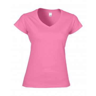 Gildan V-Neck SoftStyle Dames T-shirt