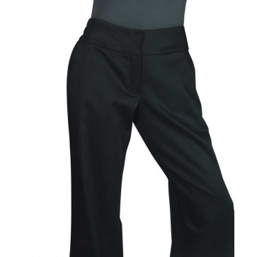 Chaud Devant Lady Zwart Stretch Kokspantalon