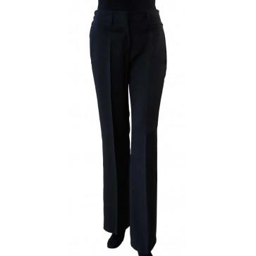 Chaud Devant Dames Zwart Pantalon