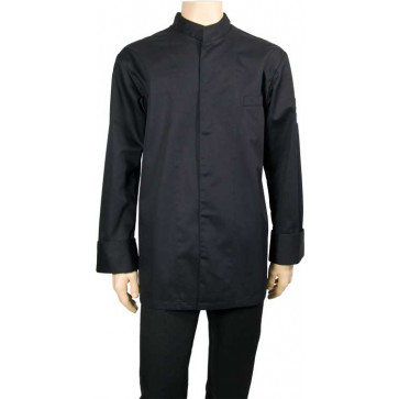 Chaud Devant Chef Shirt Zwart Koksbuis