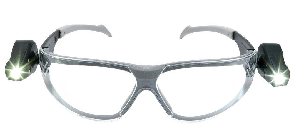 3M Led Light Vision veiligheidsbril met LED verlichting (bescherming ...