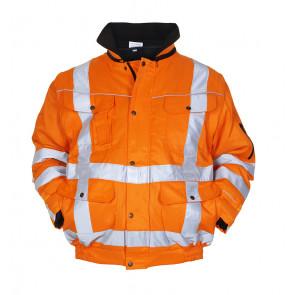 Hydrowear Aberdeen hoge zichtbaarheids werkjas oranje