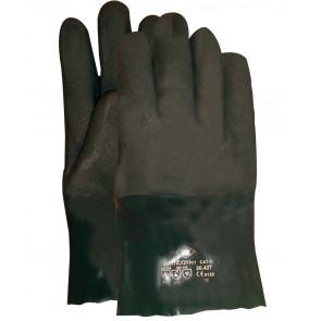 PVC Jersey werkhandschoen 27cm