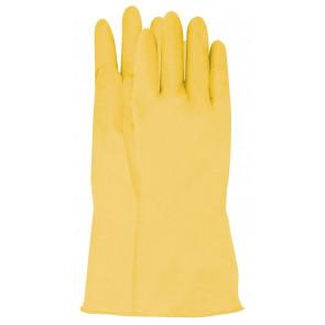 Latex werkhandschoen geel