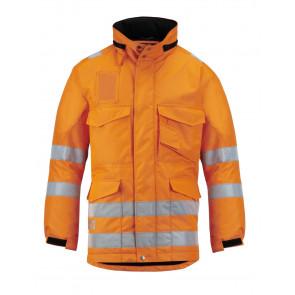 Snickers Hoge zichtbaarheids lange Winterjas . Klasse 31823