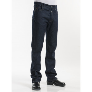 Chaud Devant Jeans Blue Denim Stretch Kokspantalon