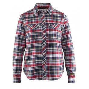 Blåkläder 3209 Dames Overhemd Flanel