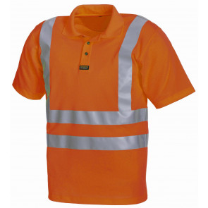 Blåkläder 3311 Piqué Polo High Vis klasse 2