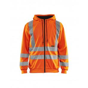 Blåkläder 3346 Hooded Sweatshirt High Vis