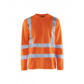 Blåkläder 3381 T-shirt High Vis lange mouw UPF 40+ UV