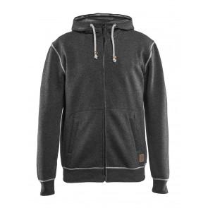 Blåkläder 3398 Hooded sweatshirt met rits