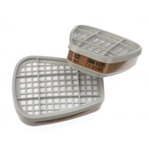 3M filter: bescherming tegen organische en  formaldehyde dampen (gemiddelde capaciteit)