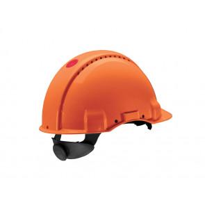 3M Peltor G3000N: extra ventilerende veiligheidshelm met 180° omkeerbaar binnenwerk (oranje)