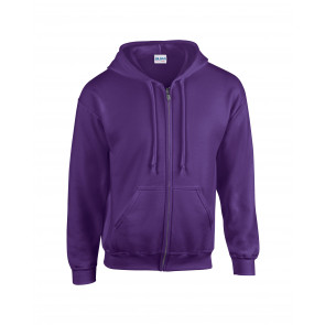 Gildan Hood Full Zip Heren Sweater
