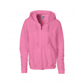 Gildan Hood Full Zip Dames Sweater