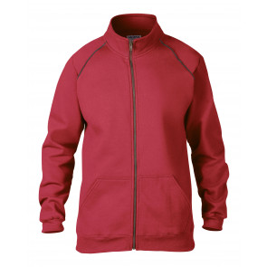 Gildan Full Zip Premium Cotton Sweater met rits