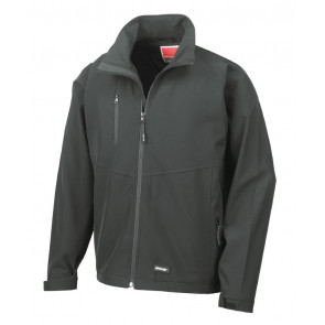 Result 2 laags Soft-Shell heren jas
