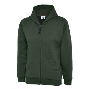 Uneek UC506 Sweater met rits Classic Hooded Kinder