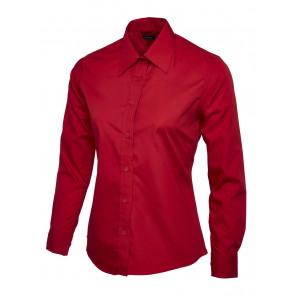 Uneek UC711 Overhemd Poplin Dames