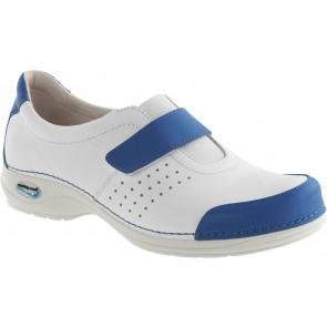 Wash'Go NursingCare medische schoen wit/lichtblauw