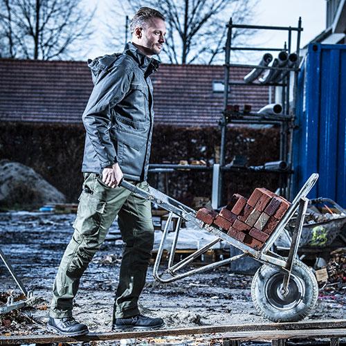 Werkkleding in de bouw